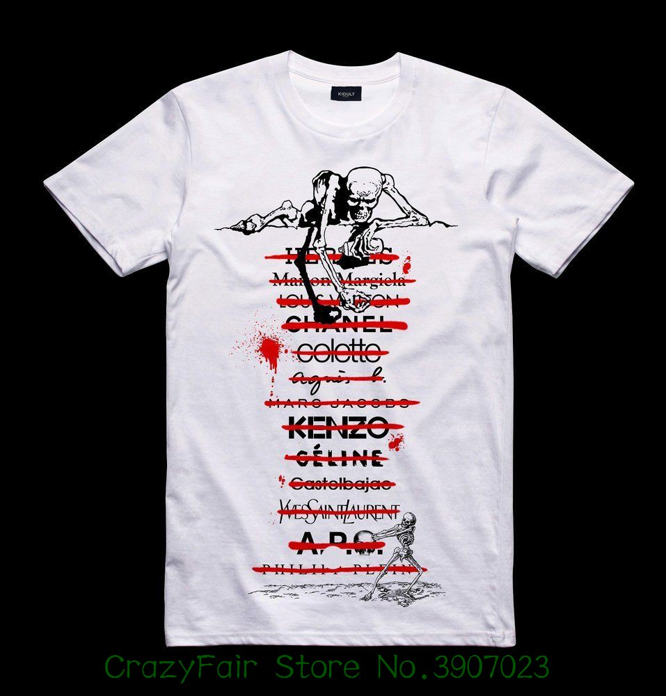 Men's Clothing White Skull Groups Tshirt Dancing On The Graves Mens Fashion Death Note Skull Skeleton T Shirts For Adult Xxxl Big Size