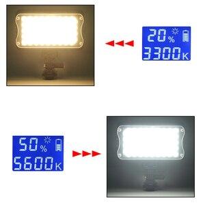 Image 5 - Viltrox VL 162T كاميرا LED الفيديو ستيديو ضوء 3300K 5600K ثنائي اللون عكس الضوء لكانون نيكون سوني DSLR التصوير كاميرا الفيديو