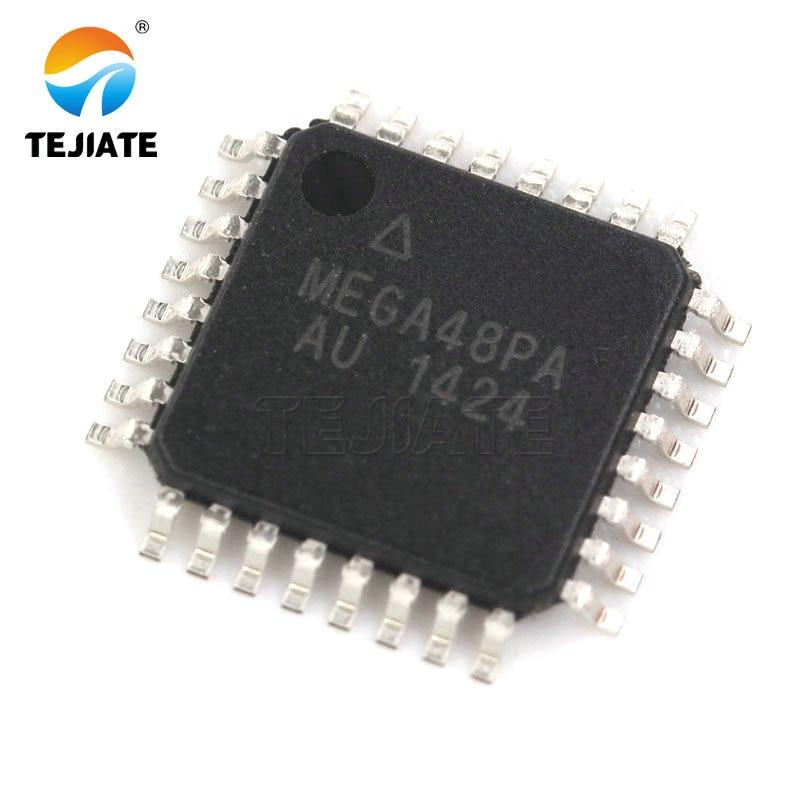 5PCS DIP-28 ATMEGA48V-10PU ATMEGA48 8-bit Microcontroller NEW