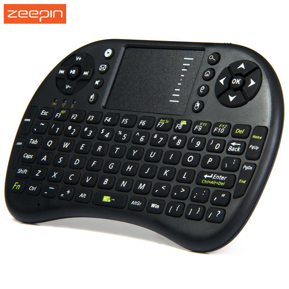 original ukb 500 rf 2 4ghz mini wireless keyboard with touchpad handheld keyboard for pc android. Black Bedroom Furniture Sets. Home Design Ideas