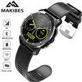 Makibes M3 4G Wasserdichte Intelligente Uhr Telefon MT6739 + NRF52840 Dual chip Android 7.1 8MP Kamera GPS 800 mAh Antwort anruf