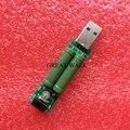 1 pcs mini USB de carga de descarga resistor 2A/1A Com interruptor 1A led Verde, 2A led Vermelho