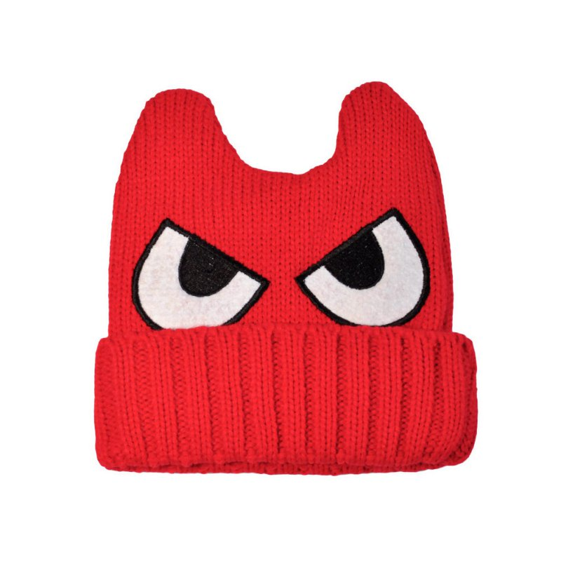 afec7591753 Detail Feedback Questions about Winter Warm Kids Baby Cute Monsters Horns  Eyes Cap Boys Girls Knit Crochet Hat Autumn on Aliexpress.com