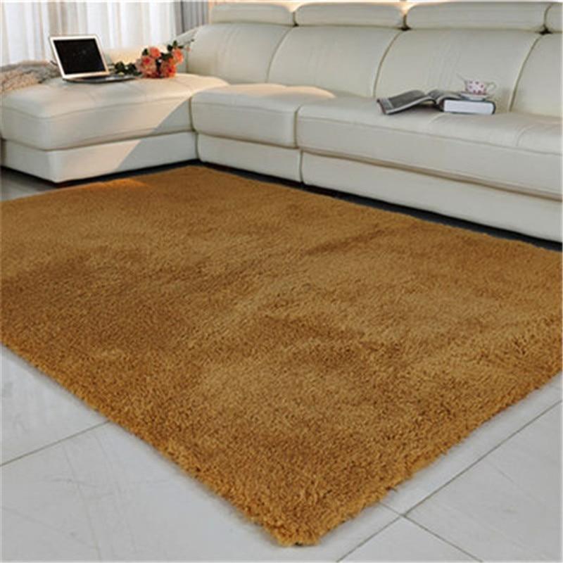 100X200CM 3.5cm Thickness Plush Slip-Resistant Soft Mat Room Modern Shaggy Carpet Kids Carpets Mat Rug Living Room Alfombra