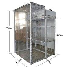 Большой размер dis-монтируемая уборочная комната без пыли Рабочая скамейка стол ремонт ЖКД для сломанного телефона ремонт