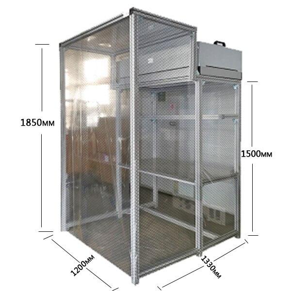 Tamanho grande Dis-montável em Sala de Limpeza Dust-livre Sala de Trabalho Bancada Mesa De Remodelação LCD Para O Reparo de Telefone Quebrado renovação