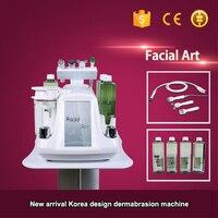 Hydra dermabrasion rf bio-levantamento spa máquina facial/aqua facial cleaningl máquina/dermabrasion de casca de água
