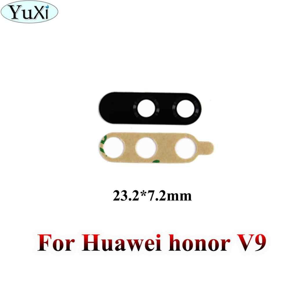 玉渓ハウジングリアバックカメラガラスレンズ接着剤で Huawei 社の名誉 6A 6X 5C V9 再生 7 7i 7C 4A 4 × 5 × 8 × 10 V8 6 交換
