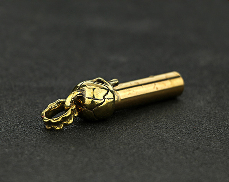 Whistle Key Chain Copper  (16)