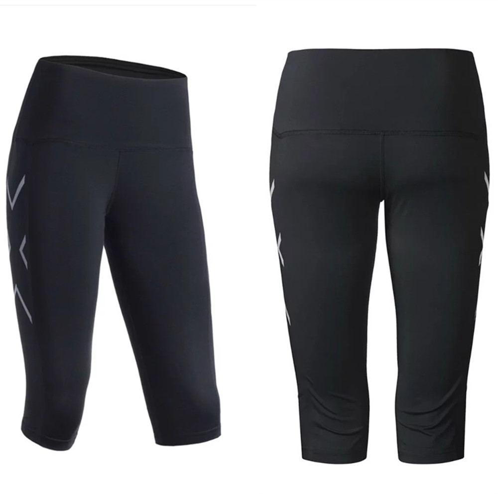 Compression Base Layer Tights Women Running Pants Shorts Yoga Sports Leggings GYM Fitness Leg Clothes Spandex Elastic Breathable