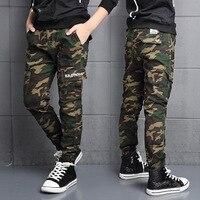 Big Boys Pants Fashion Brand Children Cargo Pants Casual Cotton High Quality Kids Clothes 7 18Y