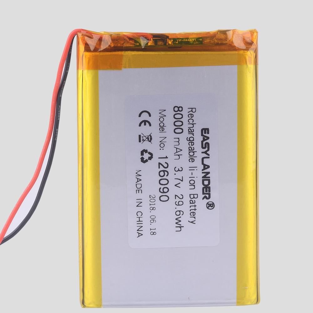 Easylander Replacement 3 7v 270mah Rechargeable Li Polymer Battery