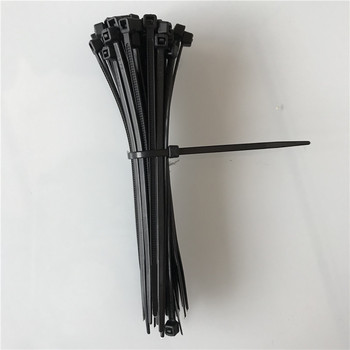 Free Shiping 80mm 100pcs Self-locking Nylon Cable Ties White Black Plastic Zip Tie 18 lbs  Approved Loop Wire Wrap - discount item  10% OFF Electrical Equipment & Supplies