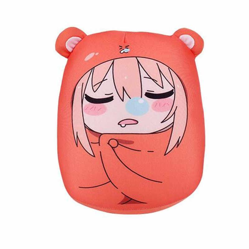 2016 yeni Sankaku kafa Himouto Umaru Chan Umaru Doma Cosplay MARMOT kısa kadife kuklaları ve insansı oyuncaklar çocuklar için