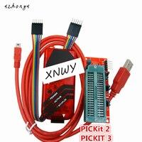 XNWY 1PCS PICKIT3 Programmer PIC ICD2 PICKit 2 PICKIT 3 Programming Adapter Universal Programmer Seat FZ0508