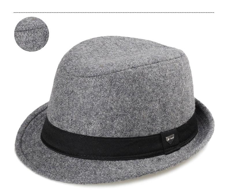 vintage fedora hat black fedora hats for men wool felt hat mens hats fedoras mens fedora hats winter vintage hat jazz hat (10)