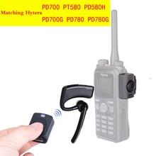 トランシーバーワイヤレスイヤホントランシーバー Bluetooth ヘッドセット 2 ウェイラジオワイヤレスイヤホン Hytera PD780 PD700 PD580H