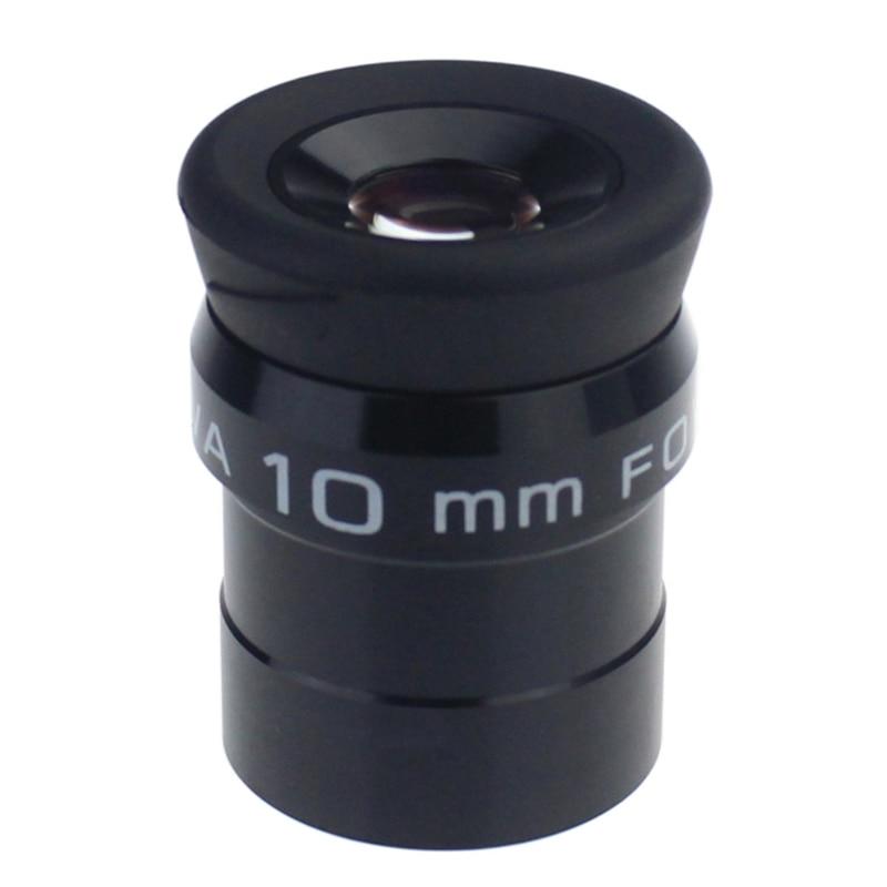 Télescopes astronomiques Standard 1.25 pouces oculaire 10mm FOV 70 degrés Ultra grand Angle lentilles entièrement multi-couches