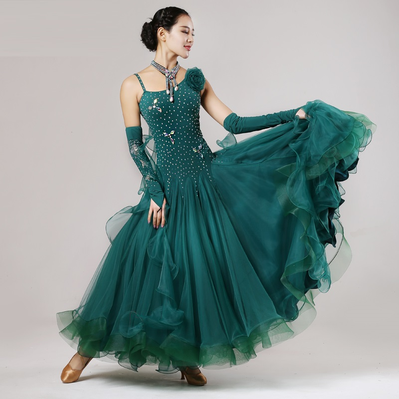 Aliexpress.com : Buy orange ballroom dance dress fringe ...