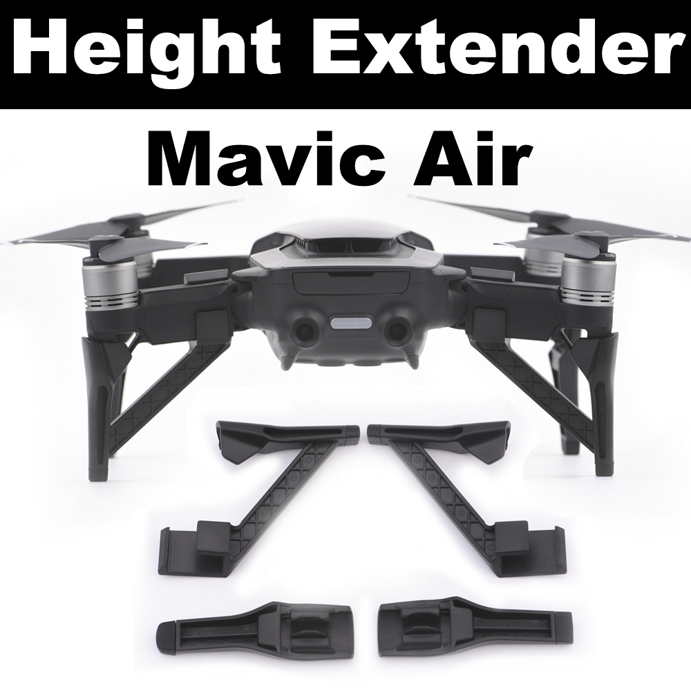 4pcs Landing Gear Kits For DJI Mavic Air Drone Heighten Extender Gimbal Camera Protector Quick Install Legs Protective Parts