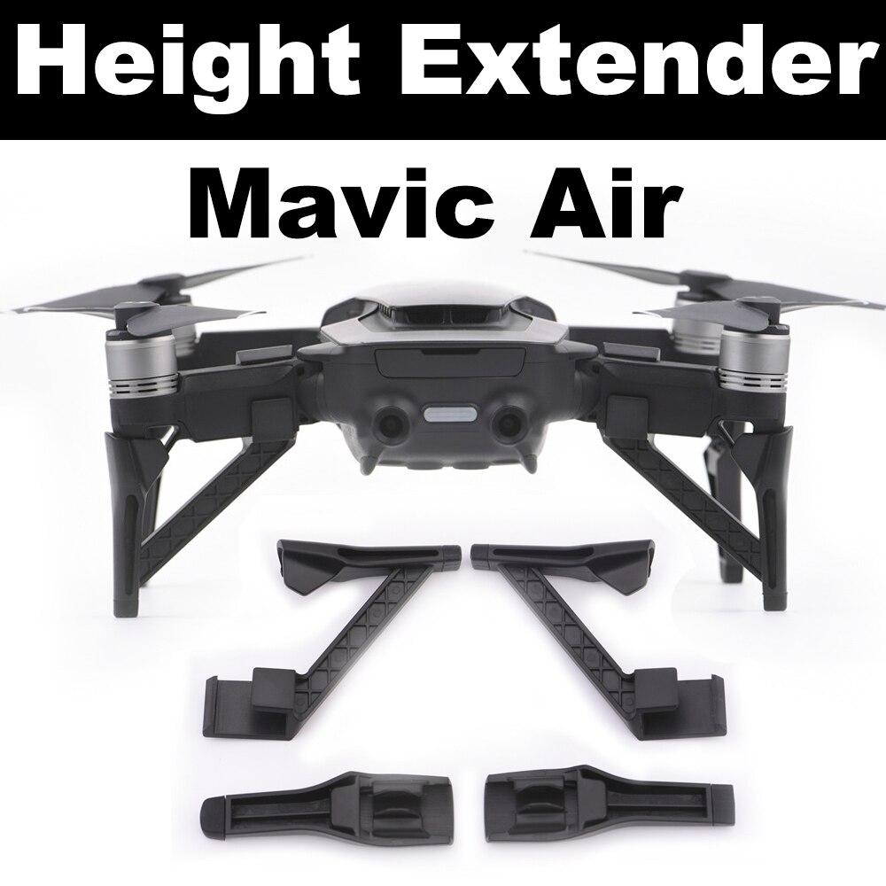 4pcs Landing Gear Kits For DJI Mavic Air Drone Heighten Extender Gimbal Camera Protector Quick Install Legs Protective Parts