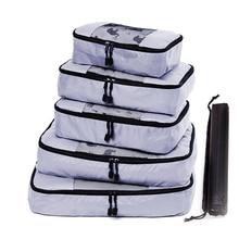 Travel Bags Packing Cube luggage Nylon/Women/Big/Ladies/Large/Waterproof/Travel Bag Organizer/Women/Sets Organiser