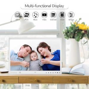 Image 5 - Andoer 15 Inch Large Screen LED Digital Photo Frame Desktop Album HD Calendar Functions with Motion Detection Sensor Touch Keys