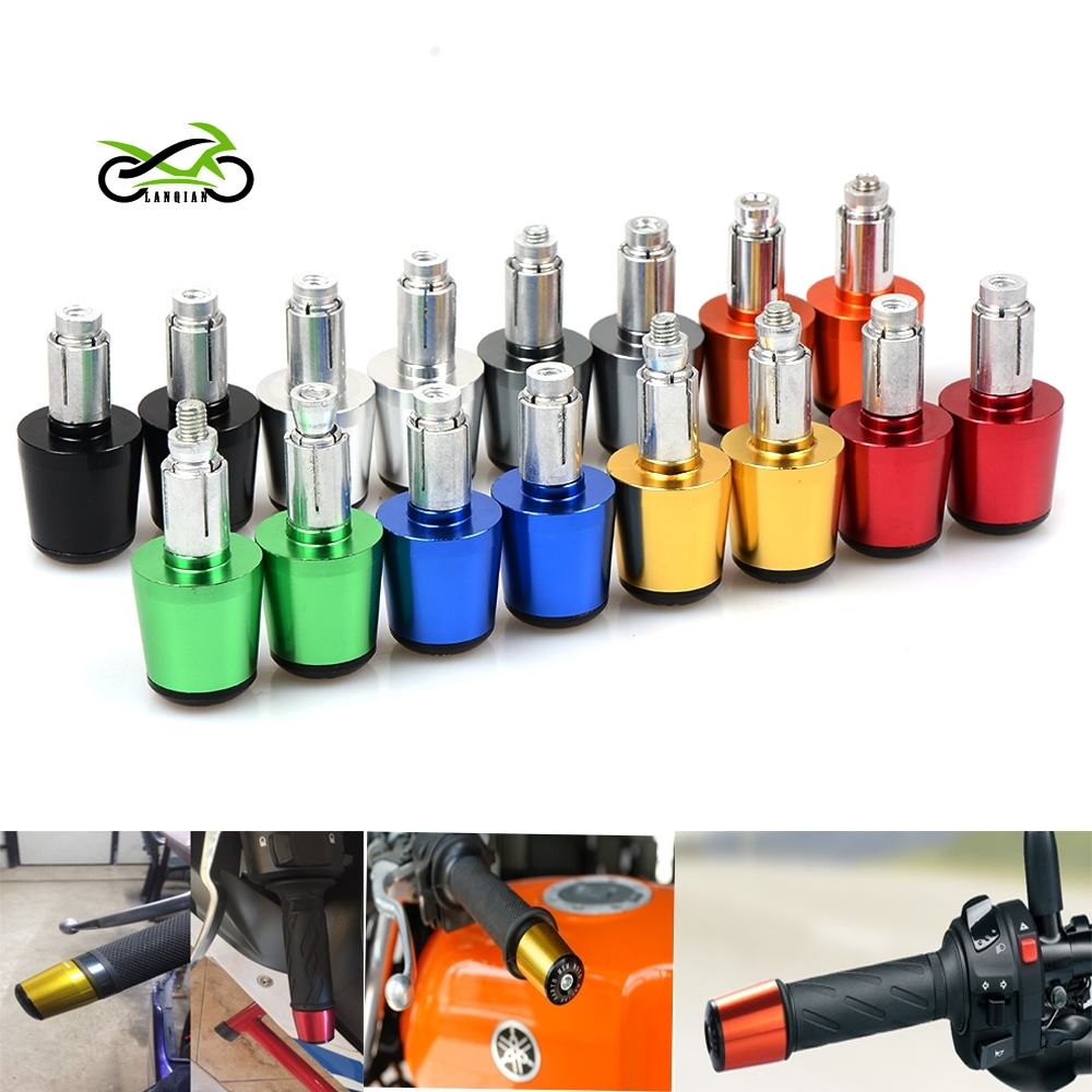 22 mm CNC motorcycle handlebar handle bar grips ends for Honda CB 599 919 400 CB600 CBR 600 F2 F3 F4 F4i CBR600F CBR600RR in Covers Ornamental Mouldings from Automobiles Motorcycles