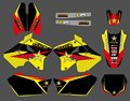 0154 New Style  TEAM DECALS STICKERS Graphics Kits FOR  RM125 RM250 2001 2002 2003 04 05 06 07 08 09 10 2011 2012