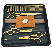 70 Professional Pet Scissors Set Dog Cutting Grooming Thinning Shears, LZS0356