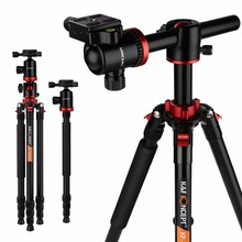 K F CONCEPT Professional 180 foldable Camera Monopod To Tripod Lightweight with Ball Head Carrying Bag