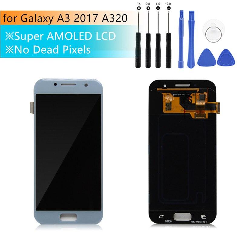 Pour SAMSUNG Galaxy A3 2017 A320 LCD écran tactile numériseur 4.7