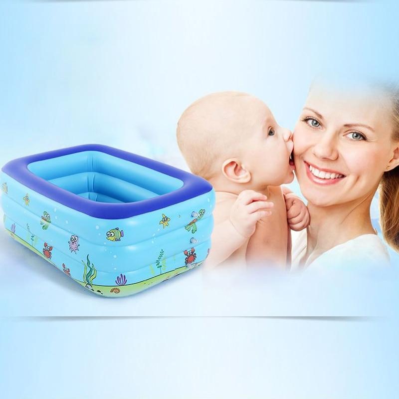 3 anneaux piscine pour enfants piscine gonflable piscine pour enfants respectueux de l'environnement PVS paquet cadeau