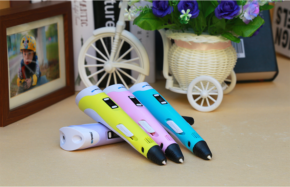Myriwell 3d Pen With LED Display And Cooling Window Best Gift for Kids