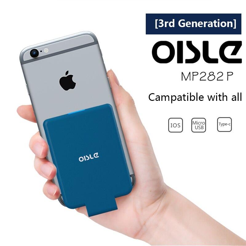 OISLE 4500 мАч Портативный Мощность банк Зарядное устройство ультра-тонкий полимер внешнего резервного Батарея чехол для iPhoneX876PlusSamsungXiaomiHuawei