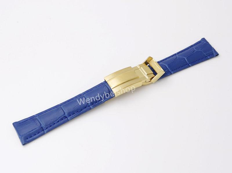 CARLYWET 20mm äkta kalvskinnskinn VINTAGE Lyxig armbandsur - Tillbehör klockor - Foto 5