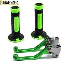 Motorbike Brake Clutch  Lever Pitvot Dirt bike Handle bar grip for KAWASAKI KX 125 KX125 2000 2001 2003 2004 2005
