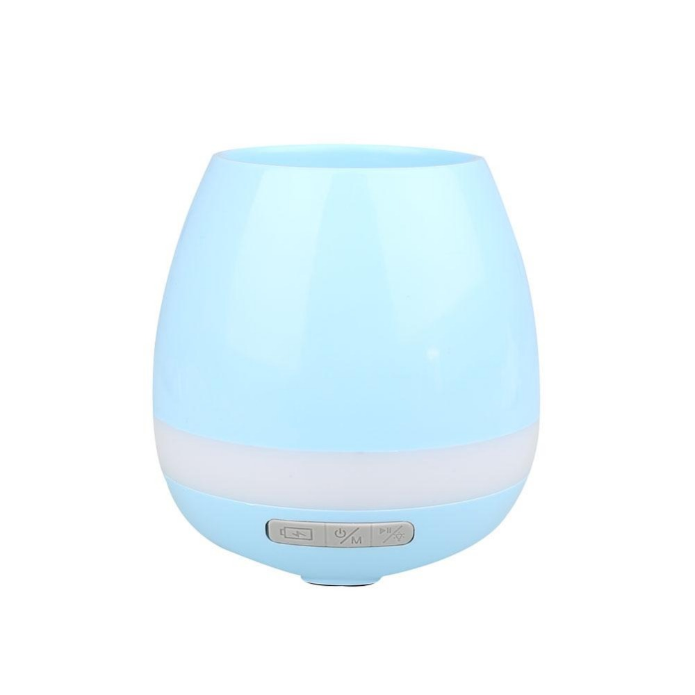 Plant Pots Bluetooth Speaker Soundbox Touch Sensor Piano Player with LED Lamp Vase Home Decoration