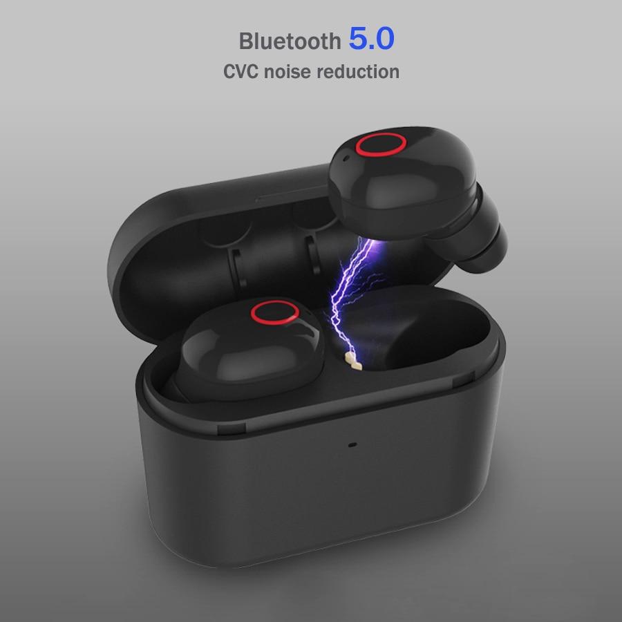 Hot TWS 5.0 Mini Auricolare Bluetooth Vero Auricolari Senza Fili Auricolare Con Microfono A Cancellazione di Rumore In Ear Blutooth Auricolari Per Il Telefono