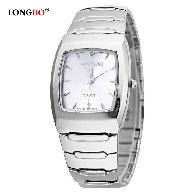 LONGBO Brand Men Women Brief Casual Quartz Crystal Wrist Watches Luxury Brand Quartz Watch Relogio Feminino Montre Femme S059