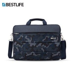 """Image 2 - BESTLIFE 15.6 """"mannen Tas voor Document Grote Capaciteit Laptop Handtas Draagbare Reizen Aktetas Bussiness Notebook Tas"""