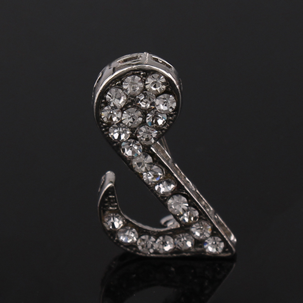 Earofcorn Simple and Beautiful Silver Music Symbol Brooches in Brooches from Jewelry Accessories