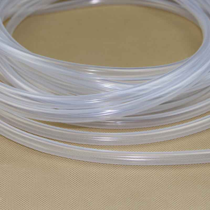 1mm X 2mm Food Grade Silicone Rubber Flexible Tube Water Hose