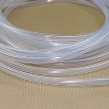 1mm x 2mm Food Grade Medical Use FDA Silicone Rubber Flexible Tube / Hose Pipe
