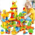 Las partículas Grandes bloques de Construcción de plástico/más de 3 años de juguetes educativos para niños/no tóxico Seguro/C1002