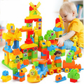 plastic Large particles Building blocks/ more than 3 years educational toys for children/Safe non-toxic/C1002