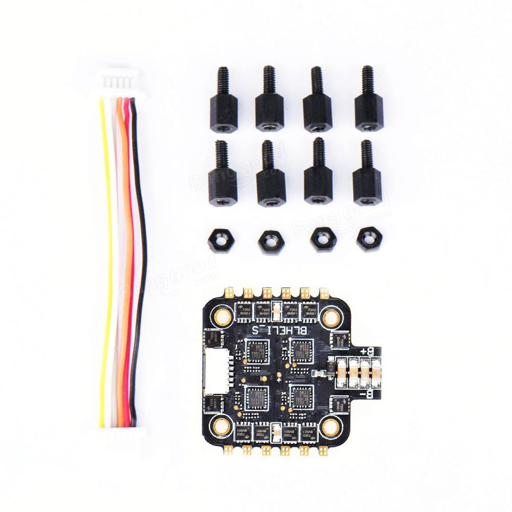 LeadingStar BS-15A Pro 2-4S 15A Dshot600 BLHELI_S 4 In 1 ESC 4.4g for FPV Racing Drone gbu15k u15k80r 15a 800v