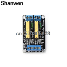 Promo offer Relay 2 Channel SSR Solid State Relay High-low Trigger 5A 24V For Arduino UNO R3