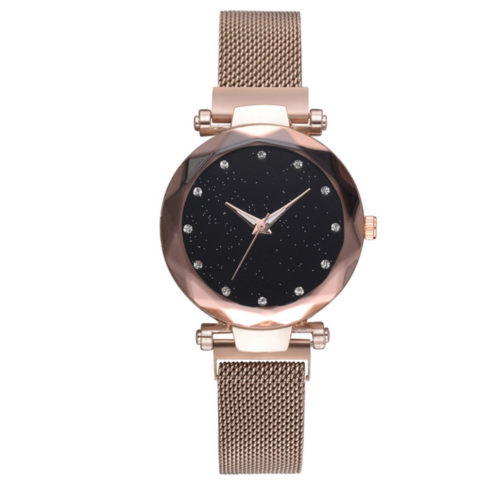 Women Magnetic Star Watch Female Fashion Casual Quartz Watches