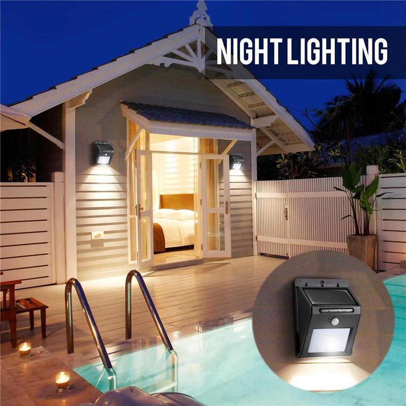 Lâmpadas Solares livre solar powerd luz sensor Características : Solar Power